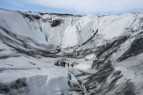 Ice Climbing with Glacier Adventure