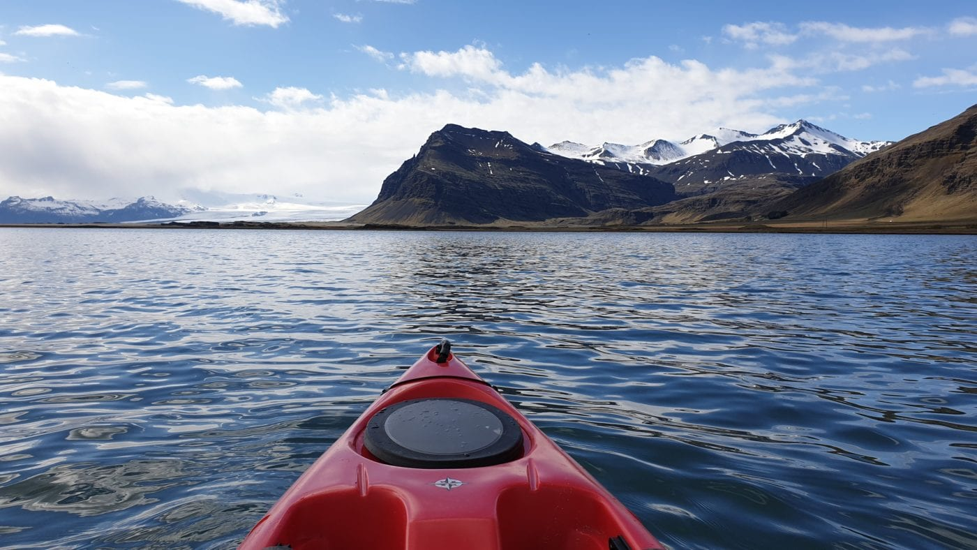Kayaking Tour Hali Glacier Adventure