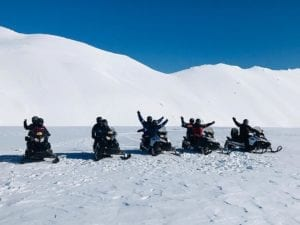 Glacier Walk and Snowmobile Tour
