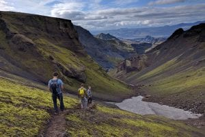 Fimmvorduhals Hike in Iceland