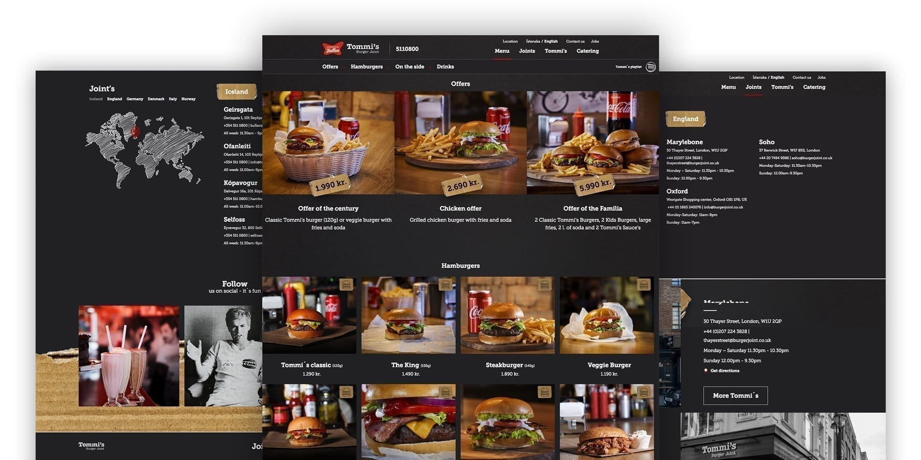 Tommi's Burger Joint - Avista Digital Agency