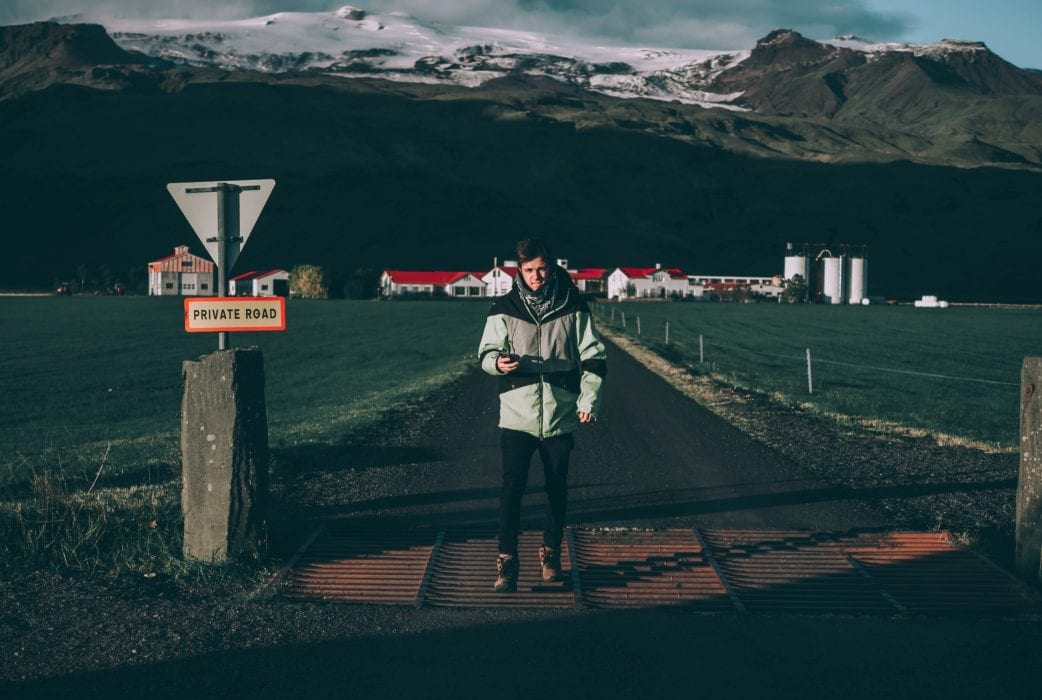 Travel Look-Book Josh and Alex in Iceland