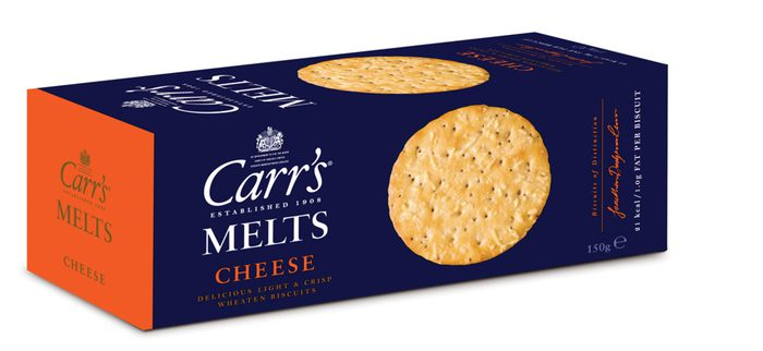 CARRS Cheese Melts 150g (12)