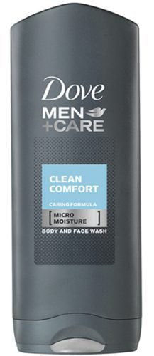 Dove Men Clean Comfort Shower Gel 6x250ml