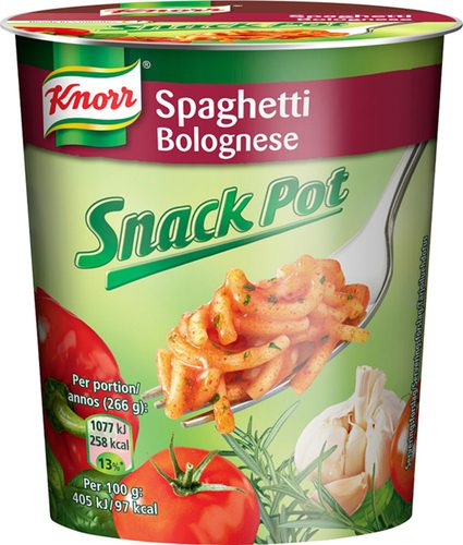 Knorr Snackpot Bolognese 8x66g