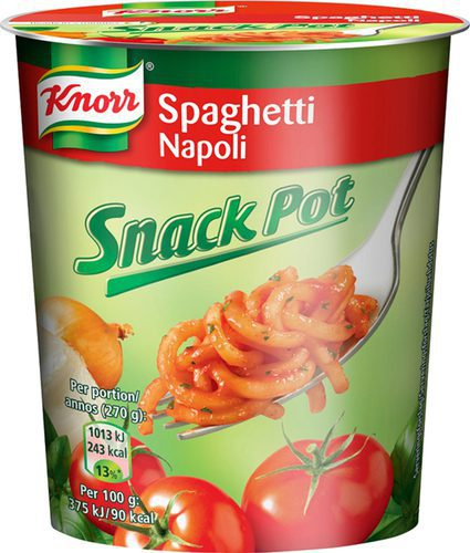 Knorr Snackpot Napoli 8x70g