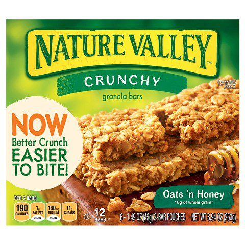 Nature Valley Oats & honey 5pack 210g (5)