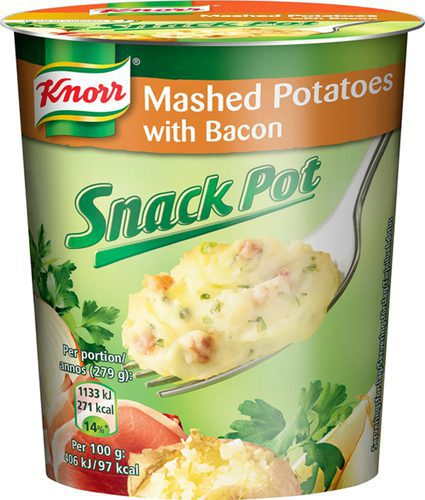 Knorr Snackpot Mashed Potatoes 8x59g